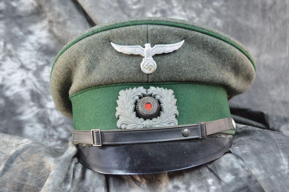 WWII German Original Heer Visor ⋆ Sell WW2 Items
